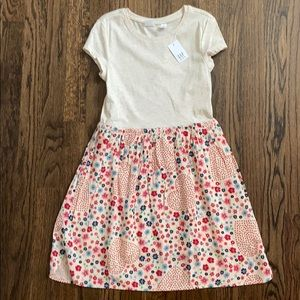 NWT GAP Short Sleeved Floral/Heart Dress/M(8)